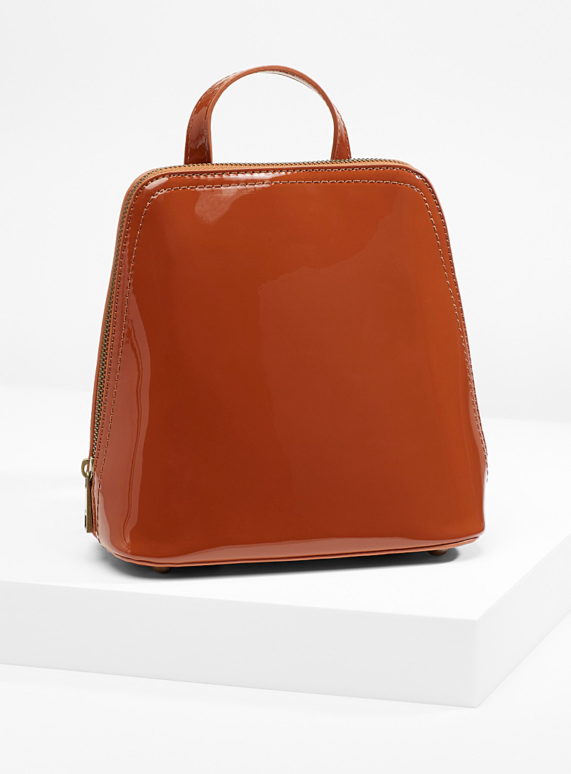 Small retro-style backpack - Backpacks - Copper