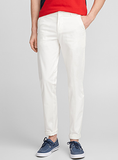 Polished pastel pant <br>Stockholm fit-Slim