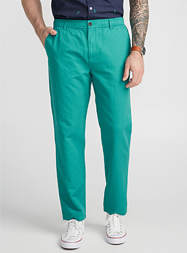 Essential cotton and linen pant  Straight fit