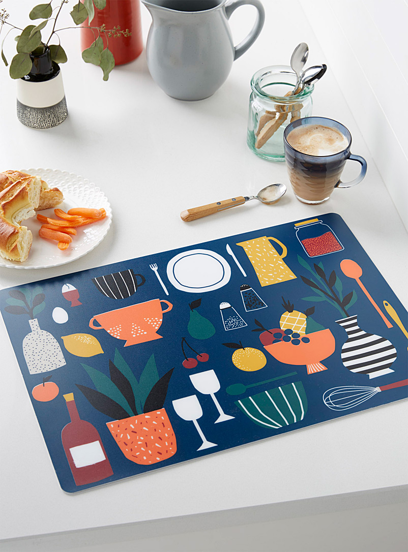Simons Maison Assorted Joy of cooking placemat