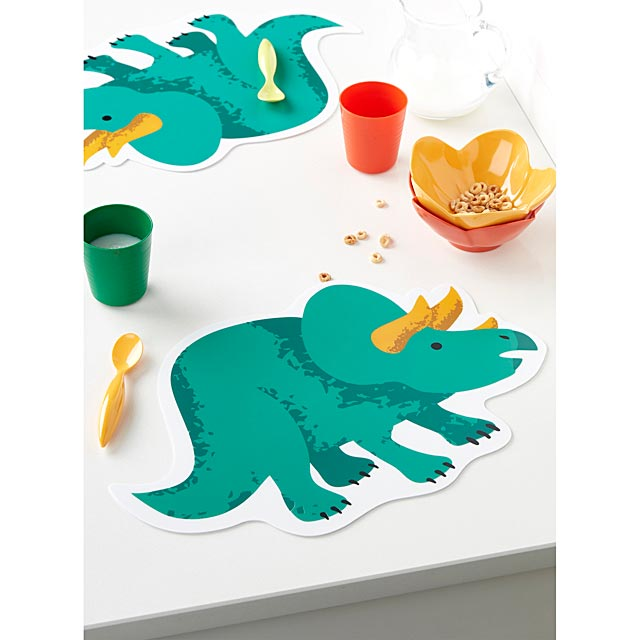 triceratops-placemat