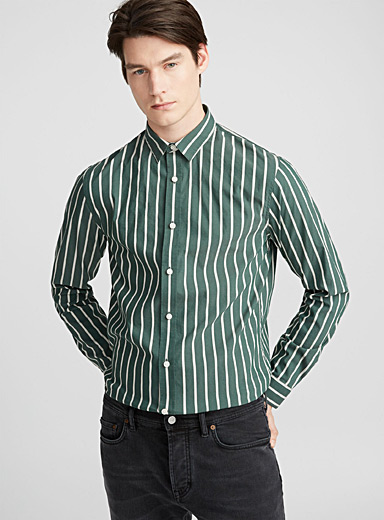 Urban striped shirt