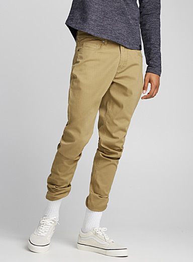 Stretch cotton pant <br>Södermalm fit - Slim