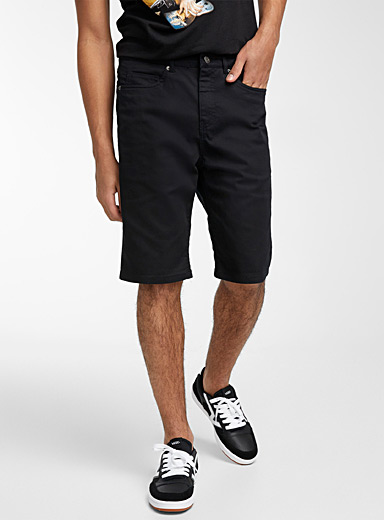 Rolled stretch Bermudas