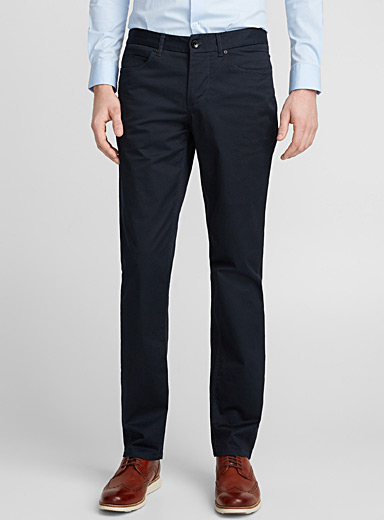 Optical weave pant  London fit - Slim straight