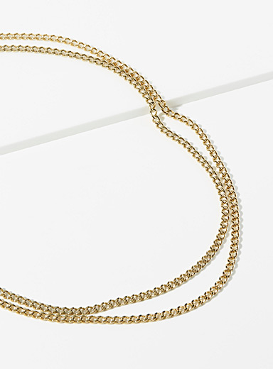 Kabel chain necklace