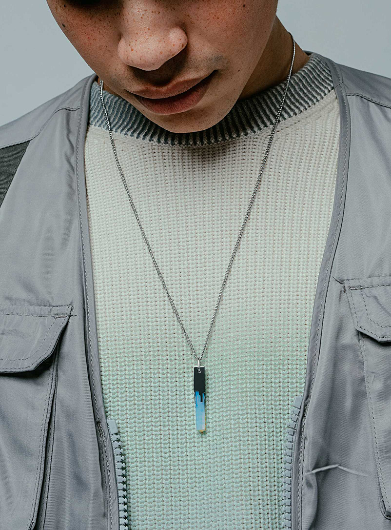 Glitch pendant chain - Necklaces - Assorted