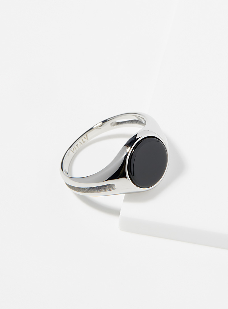 Vitaly Silver Exile ring for men