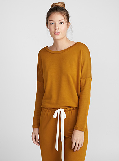 Heather lined sweater