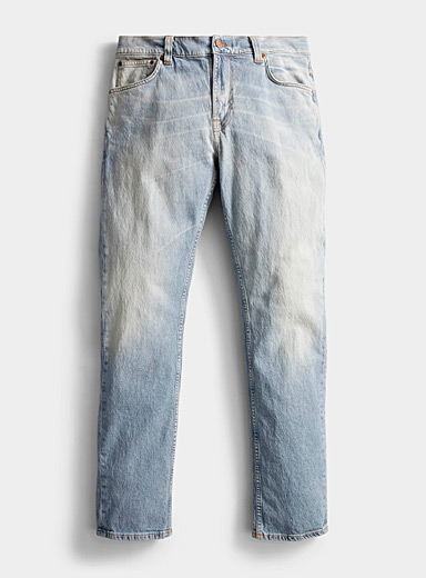 Lean Dean faded eco-friendly jean  Straight, slim fit