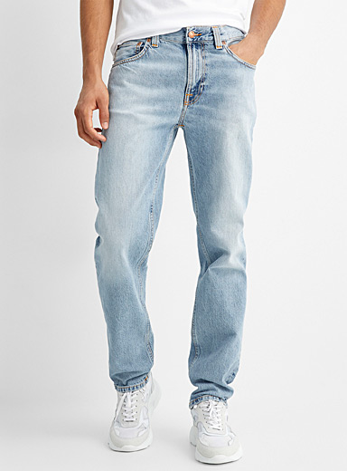 Gritty Jackson bleached jean Straight fit