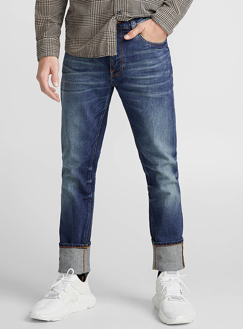 Lean Dean blue jean  Slim fit - Premium Denim - Blue