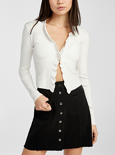 Accent pockets miniskirt