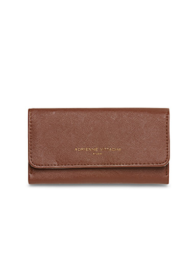 Golden logo wallet