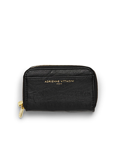 Double zip small wallet