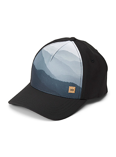 Tentree Patterned Black Altitude cap   for men
