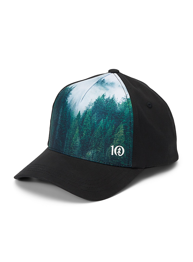 Tentree Black Foggy Tree Altitude cap for men