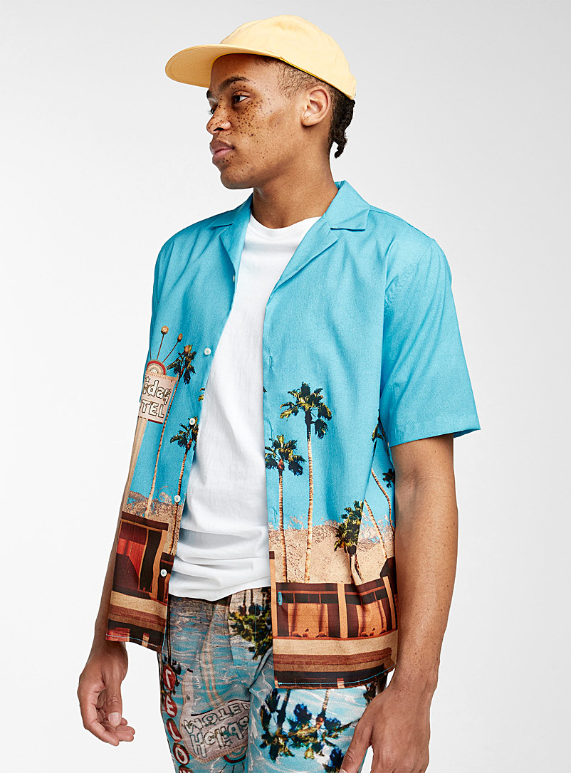Djab Assorted Desert motel camp shirt for men