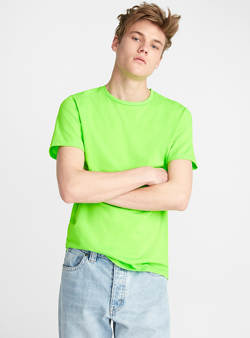 Neon T-shirt - Short sleeves & 3/4 sleeves - Green