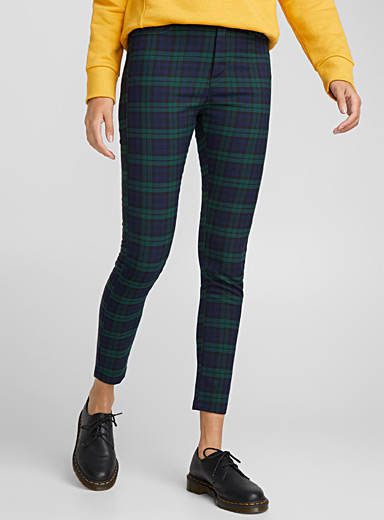 British plaid pant