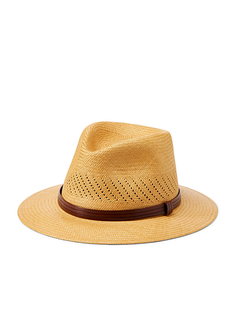 Chic authentic panama hat