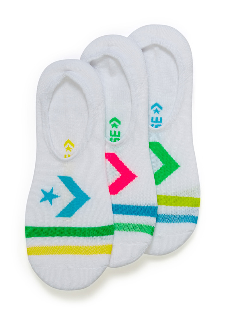 chevron-padded-ped-sock-3-pack