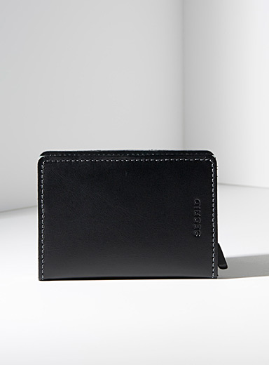 Original black leather miniwallet