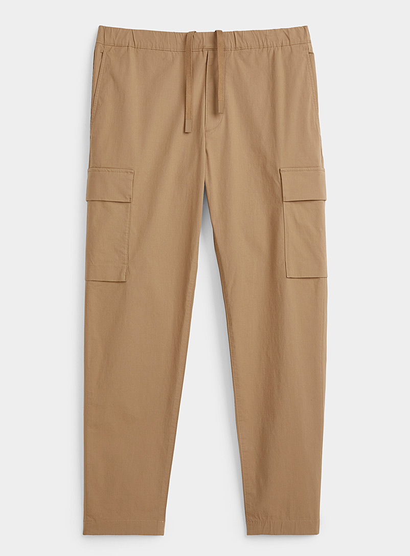 Theory Sand Wilmar cargo pant for men
