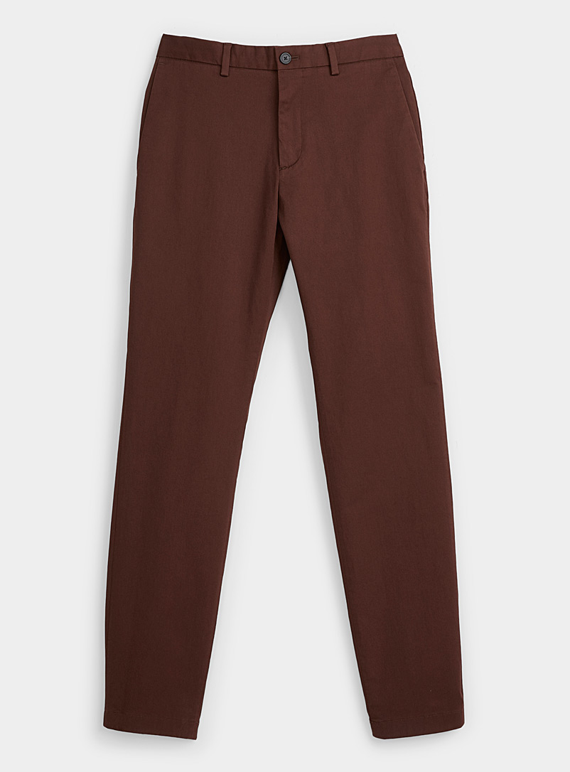 Theory Ruby Red Zaine chinos for men