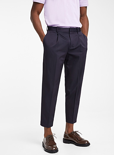 Theory Marine Blue Page T pant for men