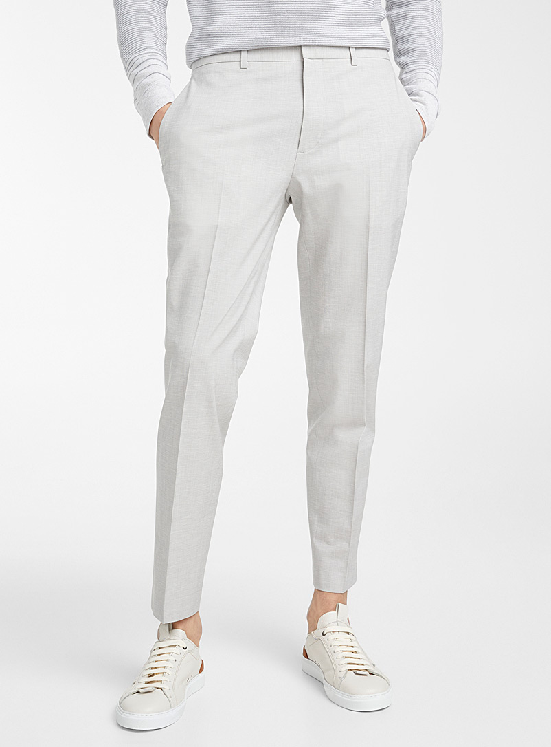 Theory Grey Curtis T pant for men