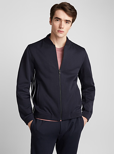 Classon sweatshirt jacket