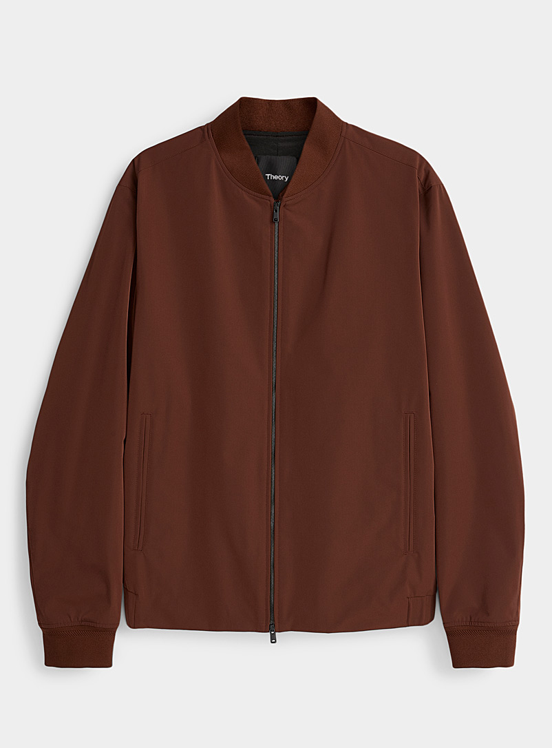 Theory Ruby Red City jacket for men
