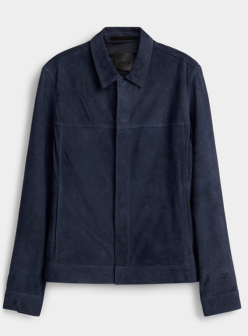 Theory Marine Blue Jamie jacket for men