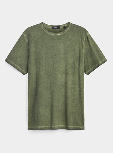 Precise faded jersey T-shirt