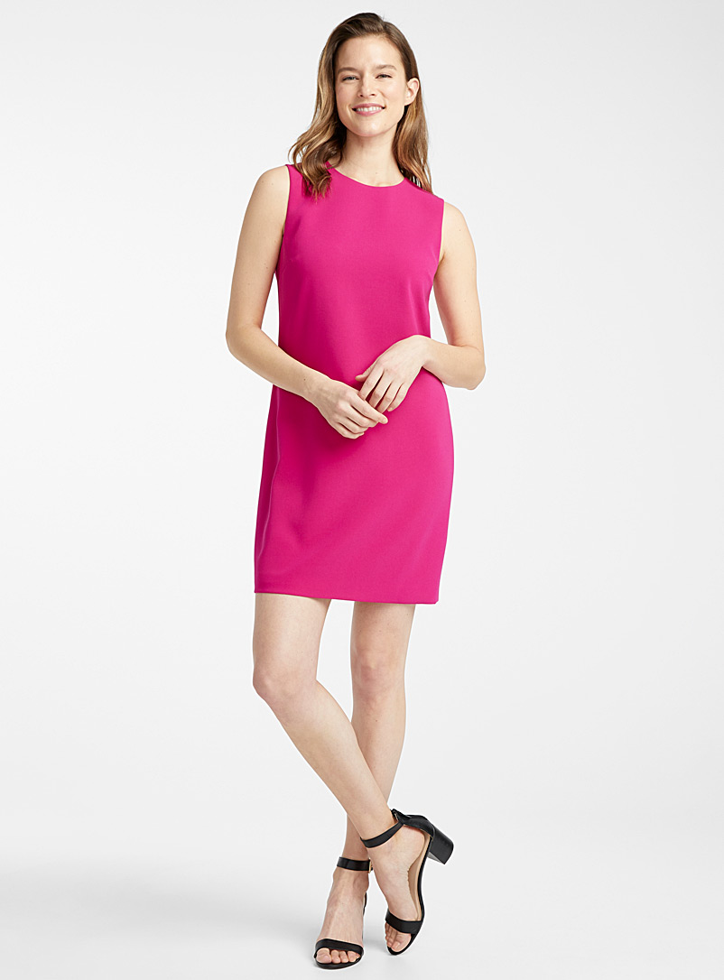 magenta-shift-dress