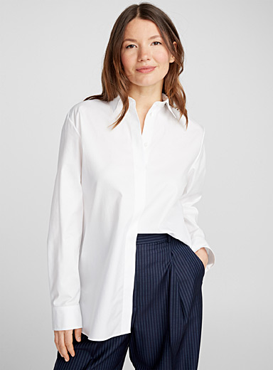 Masculine cotton shirt