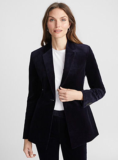 Navy corduroy jacket
