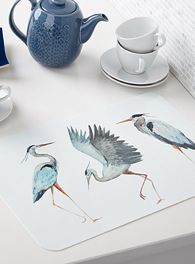 Great heron placemat