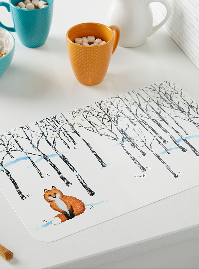 little-fox-silicone-place-mat