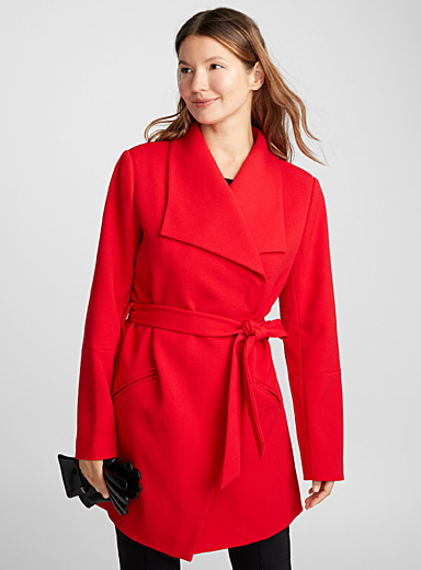 Lapel robe jacket