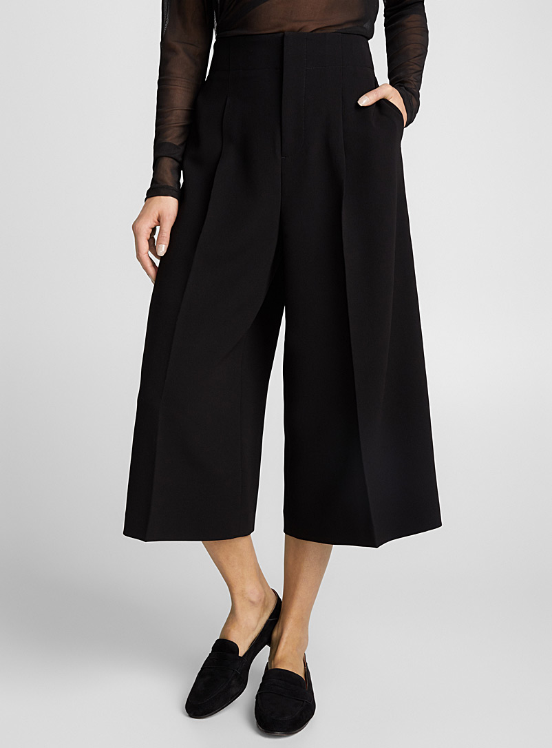 pleated-waist-culottes