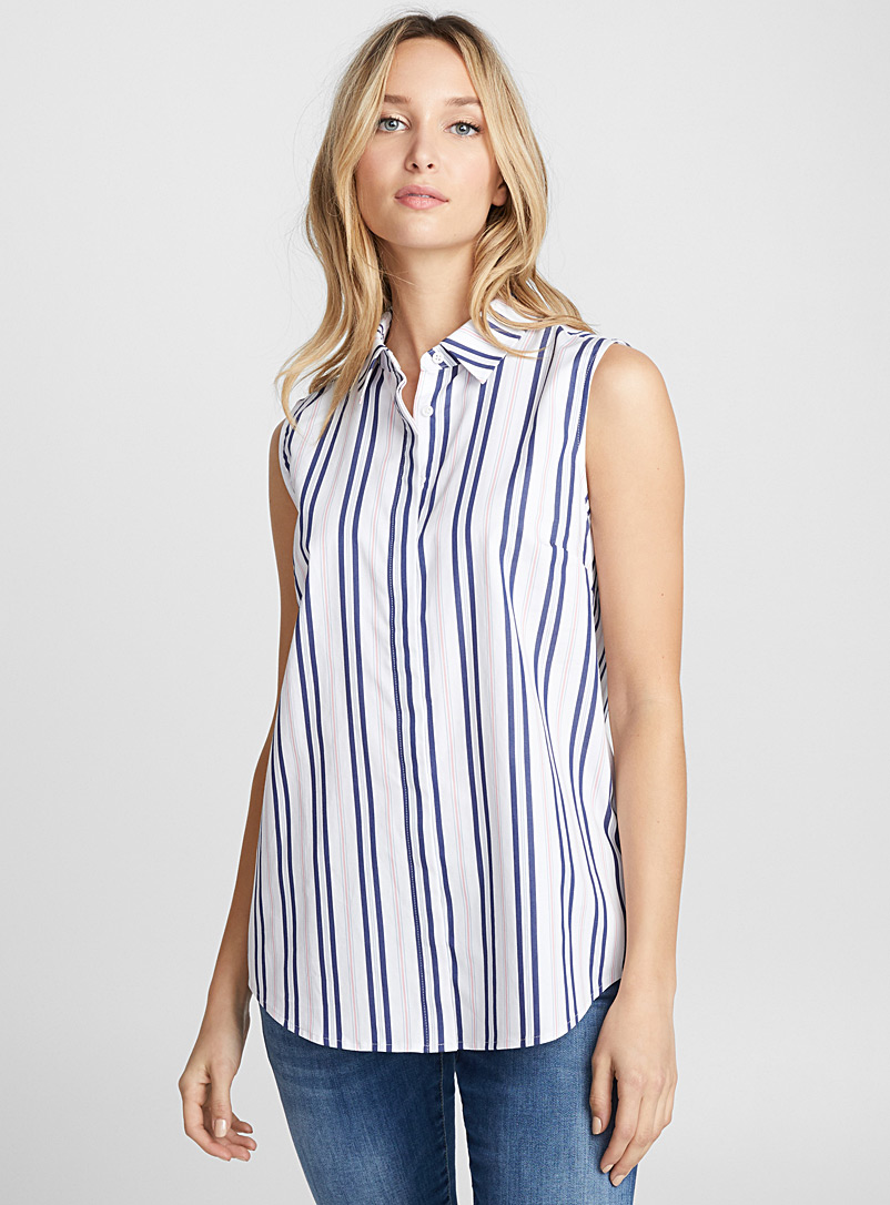 sleeveless-cotton-sateen-shirt
