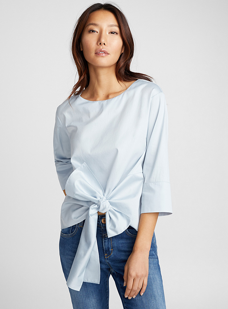 draped-knot-blouse