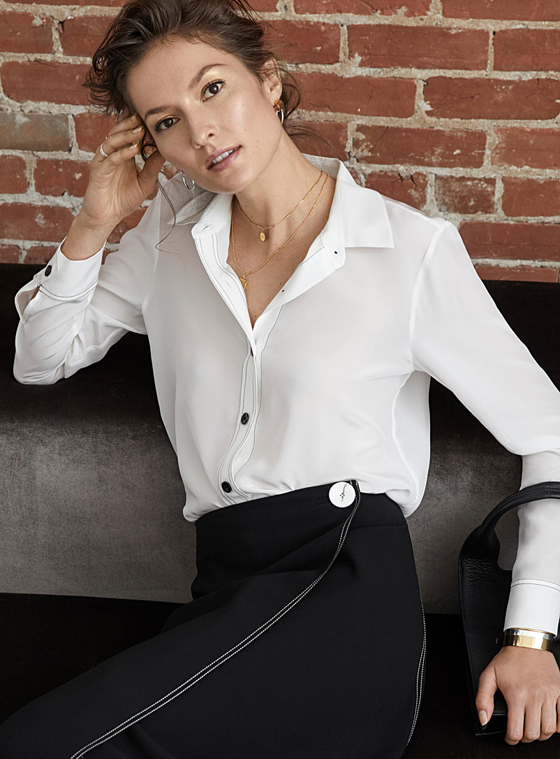 contrast-topstitching-silk-blouse