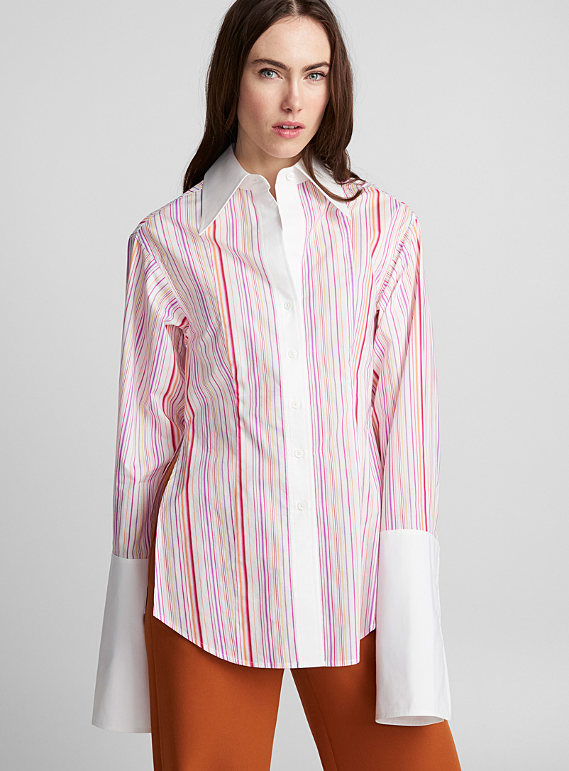 Exaggerated cuffs blouse - LECAVALIER + Édito - Assorted