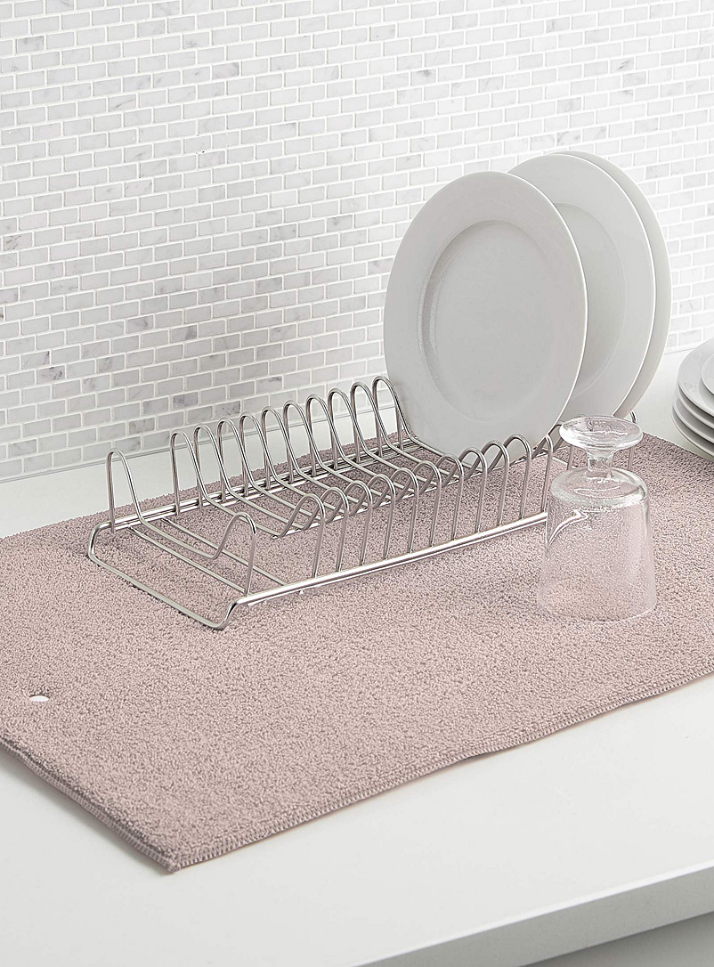 Solid dish drying mat - Useful & Chic Extras - Sand