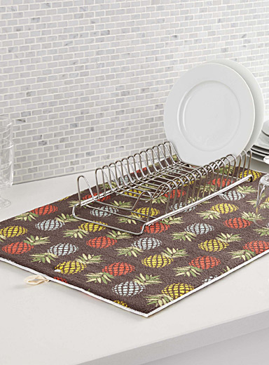 Pineapple cocktail drying mat