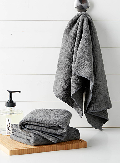 Solid microfibre tea towels  Set of 3