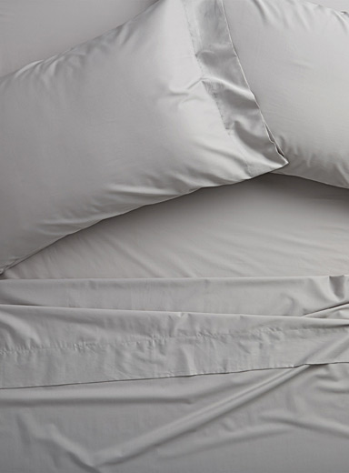 Bamboo rayon and cotton sheet set, 300 thread count  Fits mattresses up to 16 in.